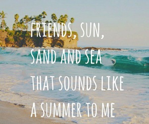 quotes, summer, and sayings image