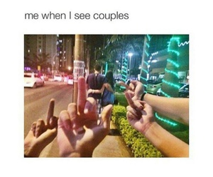 funny, couple, and true image