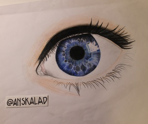 drawing, eye, and scetch image