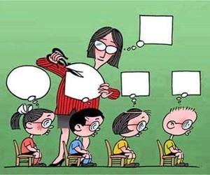 school, teacher, and education image