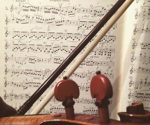 Beethoven, music, and violin image