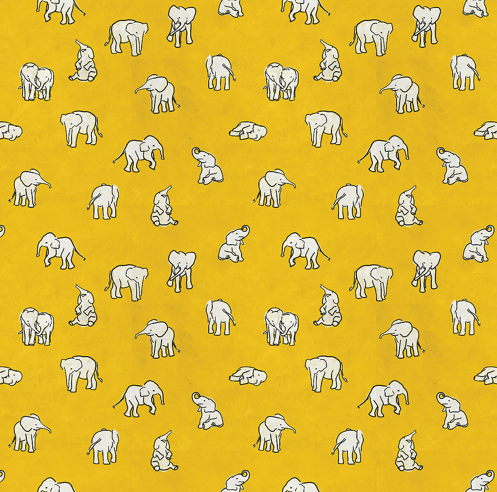 Yellow Elephants Discovered By Acpuigbo On We Heart It
