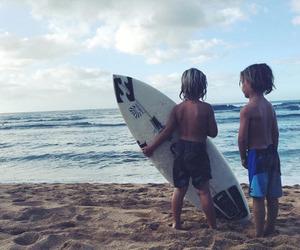 boy, surf, and surfer image