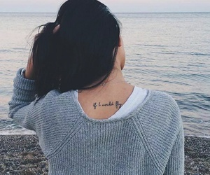 tattoo, if i could fly, and one direction image