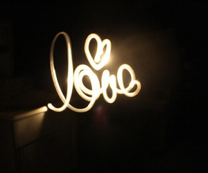 love, light, and cute image