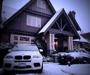 bmw, cars, and snow image