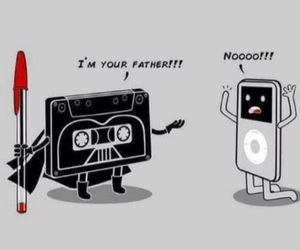 star wars, funny, and music image
