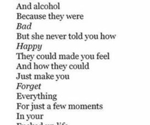 drugs, alcohol, and quotes image