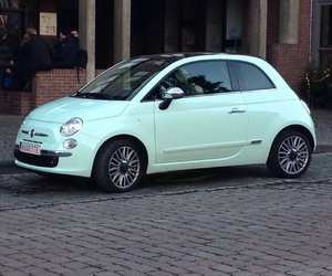 beautiful, fiat, and car image