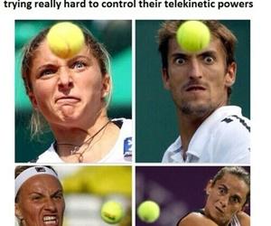 balls, hilarious, and tennis image