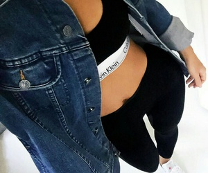 outfit, Calvin Klein, and fashion image