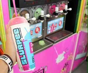 slurpee, photography, and pink image
