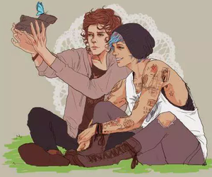 larry stylinson, louis tomlinson, and life is strange image