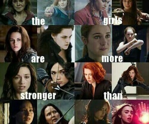 girl, strong, and harry potter image
