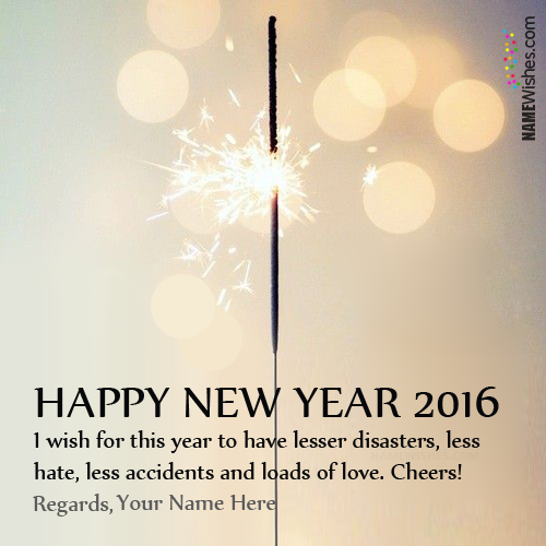 write your on happy new year wish on we heart it