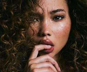 model, ashley moore, and beauty image