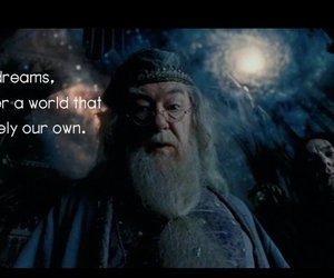 dreams, dumbledore, and galaxy image