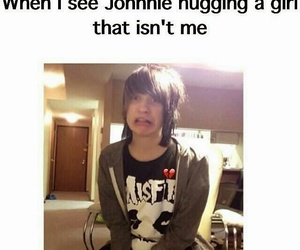 youtuber, johnnie guilbert, and funny image