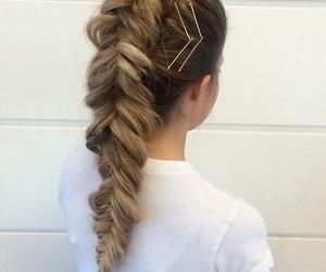 braid, hair, and cosmetics image