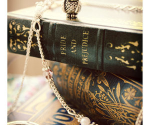 book, owl, and pride and prejudice image