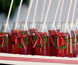 christmas, drinks, and bottles image