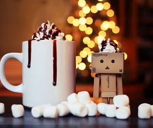 chocolate, christmas, and marshmallow image