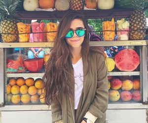 fruit, girl, and summer image