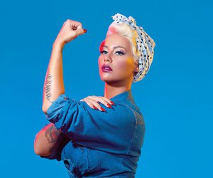Amber Rose and Queen image