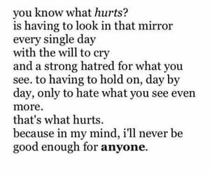 hurt, sad, and broken image