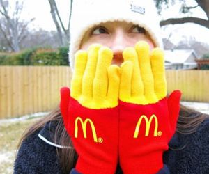 fashion, fries, and mcdonald image