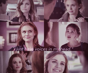 teen wolf, lydia martin, and pink themed image
