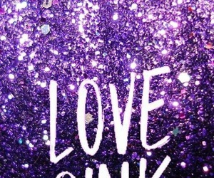 background, pink, and sparkle image