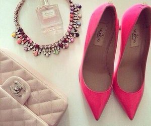 fashion, pink, and chanel image