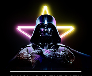 darth vader, star wars, and the force awakens image