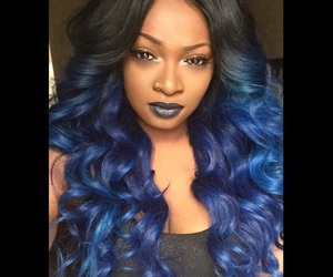 sew in and her hair looks good nfs image
