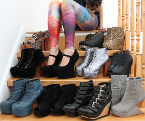 shoes, heels, and cool image