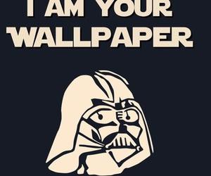 wallpaper, star wars, and darth vader image