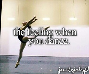 dance, ballet, and feeling image