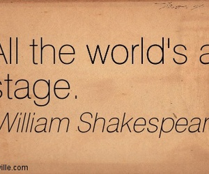 quotes, shakespeare, and theatre image
