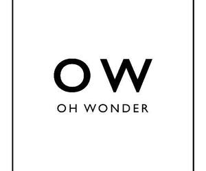 music, oh wonder, and ow image