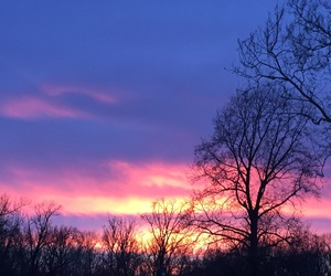 colors, illinois, and sunset image