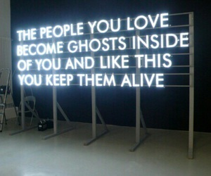 quotes, ghost, and light image
