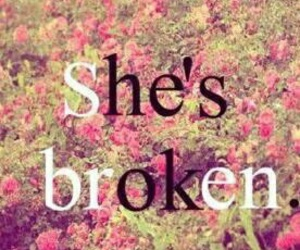 broken, ok, and flowers image