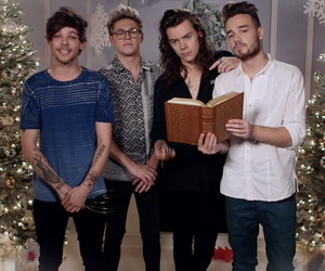 one direction, Harry Styles, and christmas image