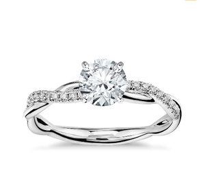 promise, ring, and wedding image