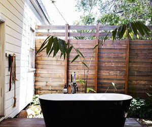 bath, bathroom, and summer image