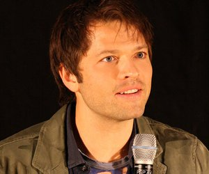misha collins and supernatural image
