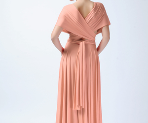 high low, bridesmaid dress, and infinity dress image
