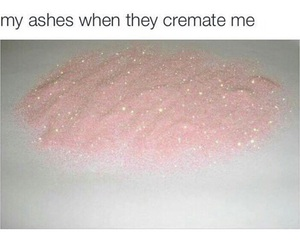 funny, pink, and glitter image