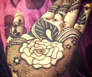 bridal, design, and henna image